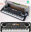 61-Keys-Digital-Electronic-Electric-Piano-Music-Keyboard-Organ-amp-Mini-Microphone thumbnail 5