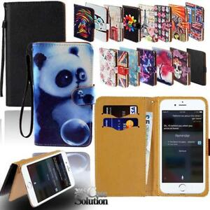 For-Apple-iPhone-345678-Itouch-3456-Leather-Wallet-Card-Stand-Case-Cover