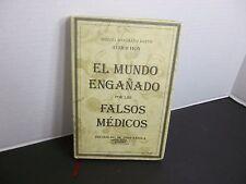 El Mundo Engañado Por Los Falsos Médicos DR. JOSEF GAZOLA y MIQUEL MASGRAU