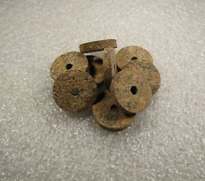 "Cork Ring, Blue Burl, 1/4"" X 1.25 X 1/4 (4) Pcs-afficher Le Titre D'origine"