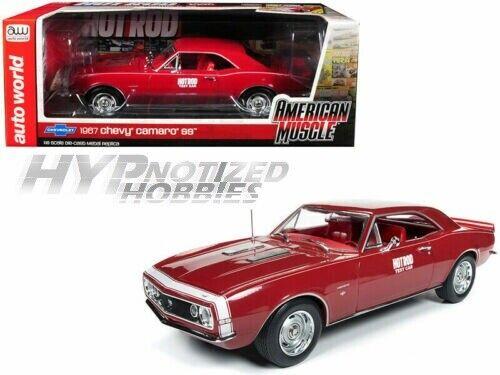 compra limitada Auto Mundo 1 18 Americano 20.4m Chevy Chevy Chevy Camero Ss Hot Rod Die-Cast Rojo Amm1163  Ahorre 60% de descuento y envío rápido a todo el mundo.