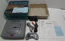 System Victor V-Saturn RG-JX2 Sega Saturn System Japan VGOOD