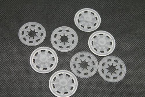 Druckknöpfe zum Annähen Transparent Kunststoff Knöpfe 30 mm Durchmesser