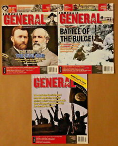 Armchair General Magazine Lot of 3 Battle of the Bulge ...