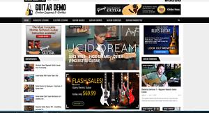 Guitar-Guides-Affiliate-product-website-100-automated-Premium-designed