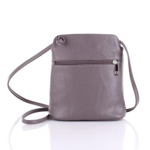 Leder Tasche Schulter Umhänge Tasche Italy Cross Body Bag Shopper Clutch Quaste