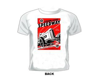 Vintage Race//Drag//Midget T-shirt LEGION ASCOT SPEEDWAY 1933