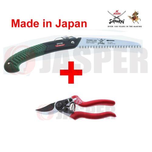 "Samurai JD-180-LH Folding Straight Blade Saw 8 1//2/"" Professional Bypass Pruner"