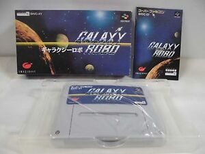 Details about SNES -- GALAXY ROBO -- New  Boxed  Super famicom  Japan  game!! 13970