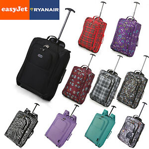 EasyJet-Ryanair-Trolley-Cabin-Hand-Luggage-Carry-On-Suitcase-Bag-Fits-56x45x25
