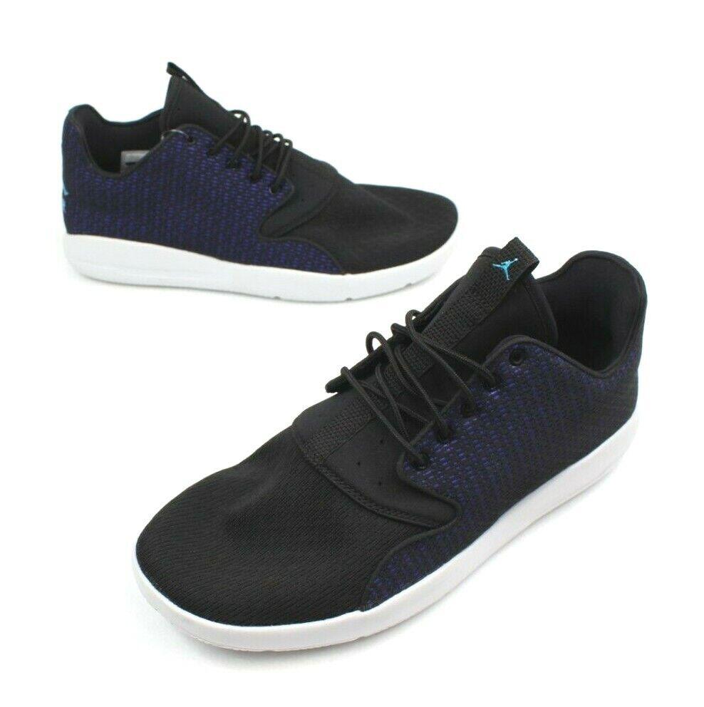 Nike Men 9.5 Air Jordan Eclipse 724010-027 Running shoes Purple bluee Black
