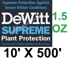 DeWitt Supreme10-5 10' X 500' 1.5 oz  Frost Protection Cloth Freeze Blanket