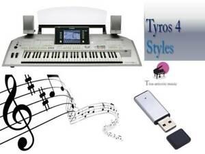 ''TYROS2 USB-Stick + Tyros4 Styles NEW''