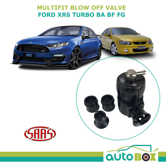 SAAS Dual Port Blow Off Valve Universal & Direct Replace Ford XR6 Turbo BA BF FG