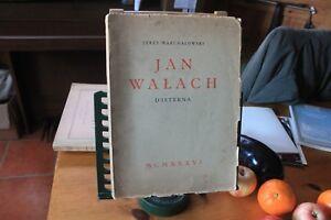 Jerzy-Warchalowski-Jan-Waleach-D-039-Istebna-1936-V-Rare