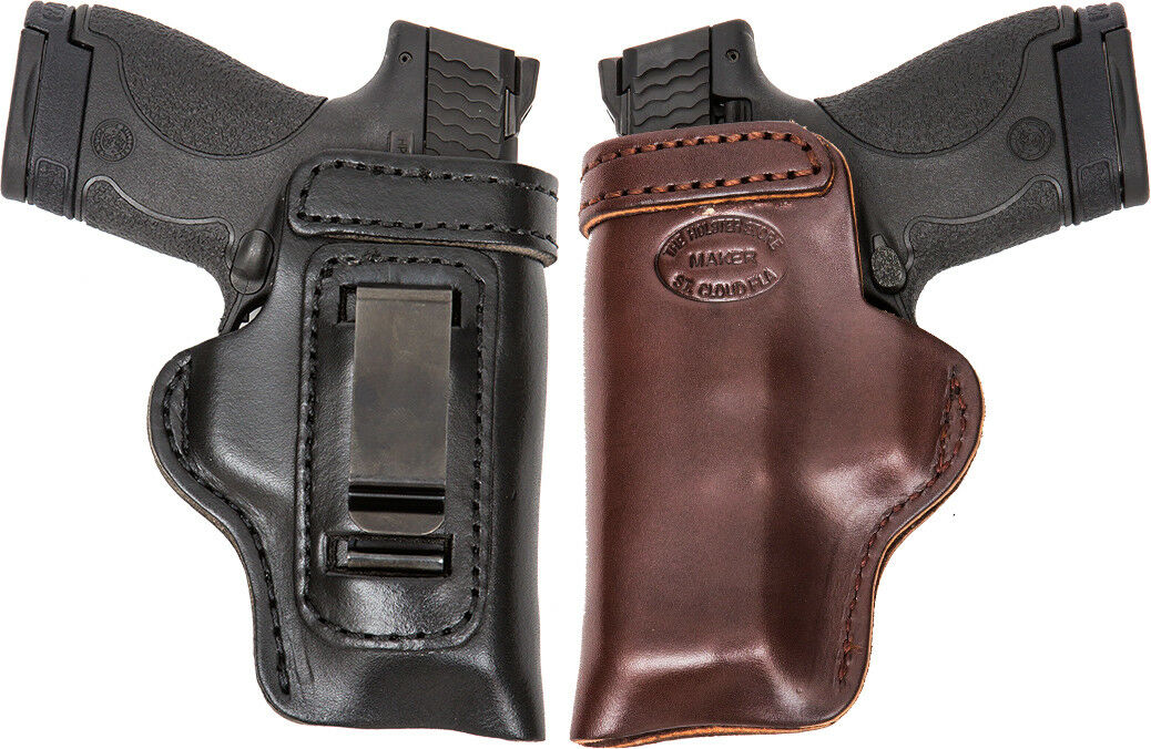 HD Concealed RH LH OWB IWB Leather Gun Holster For S&W Compact M 2.0