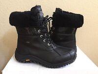 Ugg Adirondack Short Ii Exotic Velvet Black Boot Us 8.5 / Eu 39.5 / Uk 7 -