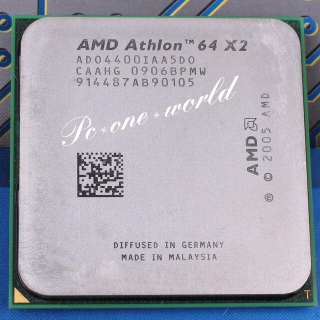 100% OK ADO4400IAA5DO AMD Athlon 64 X2 4400+ 2.3 GHz Dual-Core Processor CPU