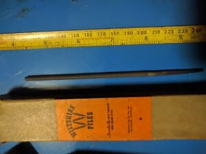 WILTSHIRE-Hand-Files-4-034-Round-Second-Cut-Australia-made