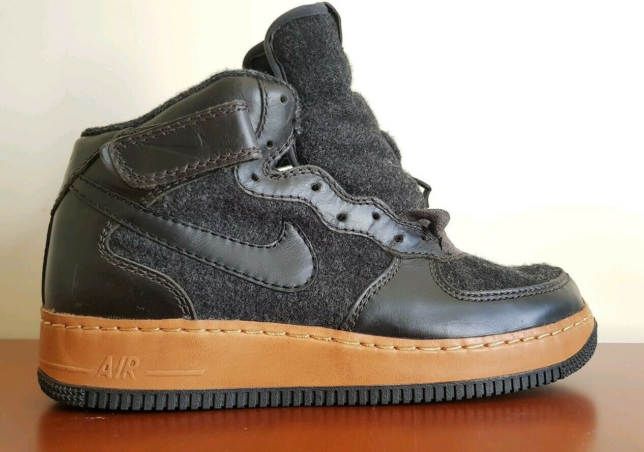 NIKE AIR FORCE ONE MID INSIDEOUT SALEMAN SAMPLE Anthracite Black 30937900100