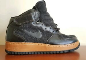 Details about NIKE AIR FORCE ONE MID INSIDEOUT SALEMAN SAMPLE AnthraciteBlack 30937900100