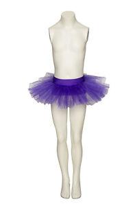 Ladies-Girls-All-Colours-And-Sizes-Dance-Ballet-Fancy-Dress-Tutu-Skirt-By-Katz
