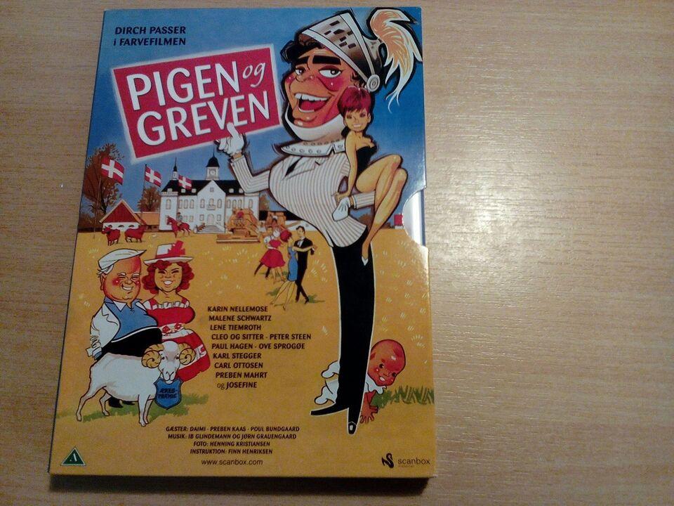 Pigen og greven 2 Disk vertionen, DVD, komedie