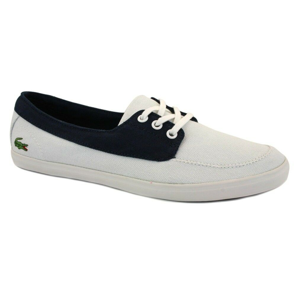 Ziane Baskets Blanc Toile Bas Casual Lacoste Femmes OEwxqdtO6