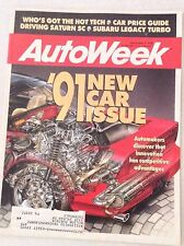 Autoweek Magazine Driving Saturn Sc November 5 1990 011617rh