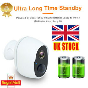 1080P-HD-Cam-Wireless-Security-Camera-Rechargeable-Battery-Powered-WiFi-Outdoor