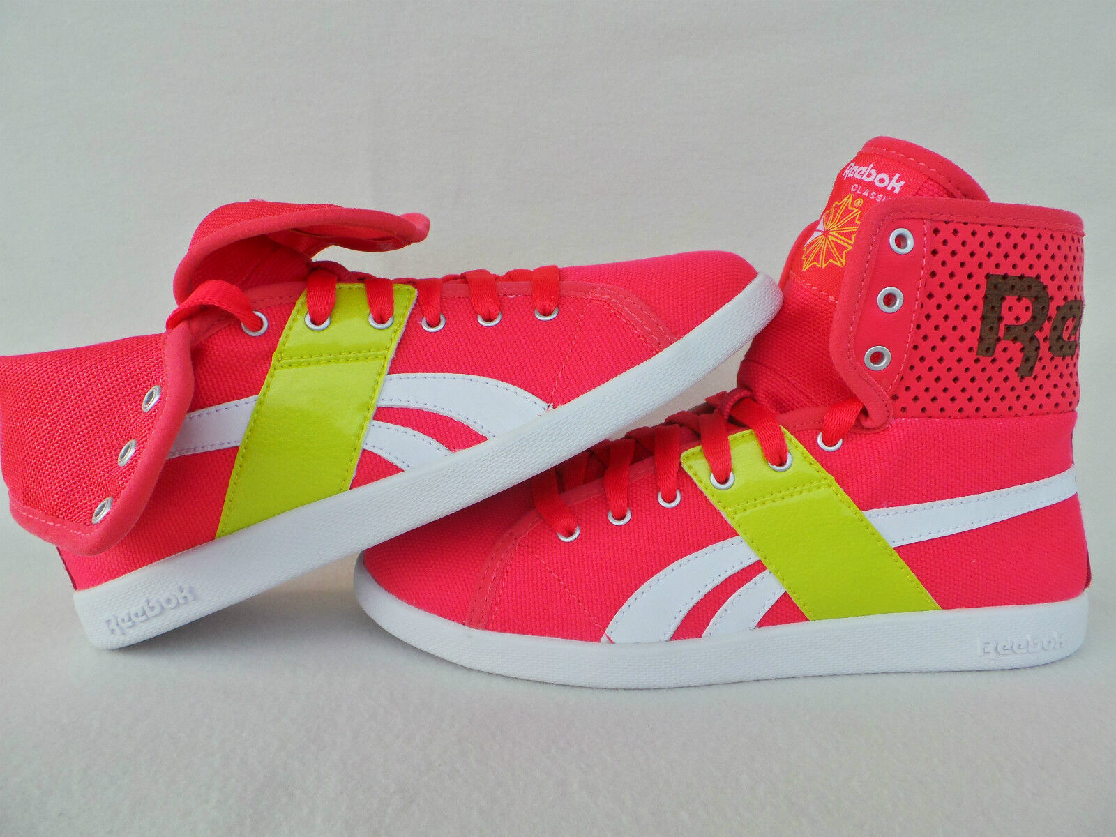 REEBOK REEBOK REEBOK BASKETS ROSE SIMILAIRE Chucks CHAUSSURE BOTTES FEMMES TAILLE 36 37 38 39 f6b1a4