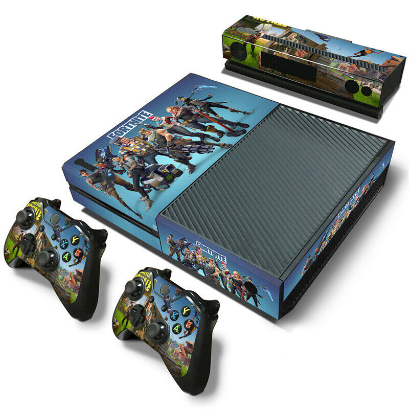 Hot New XBOX ONE Skin Decal Sticker + 2 Controller Skins & Kinect VINYL-5197