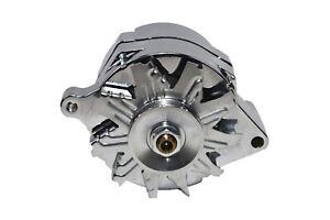 Chrome-SB-Ford-1G-Style-110-AMP-1-Wire-Alternator-Mustang-289-302-351-V8-10SI-V