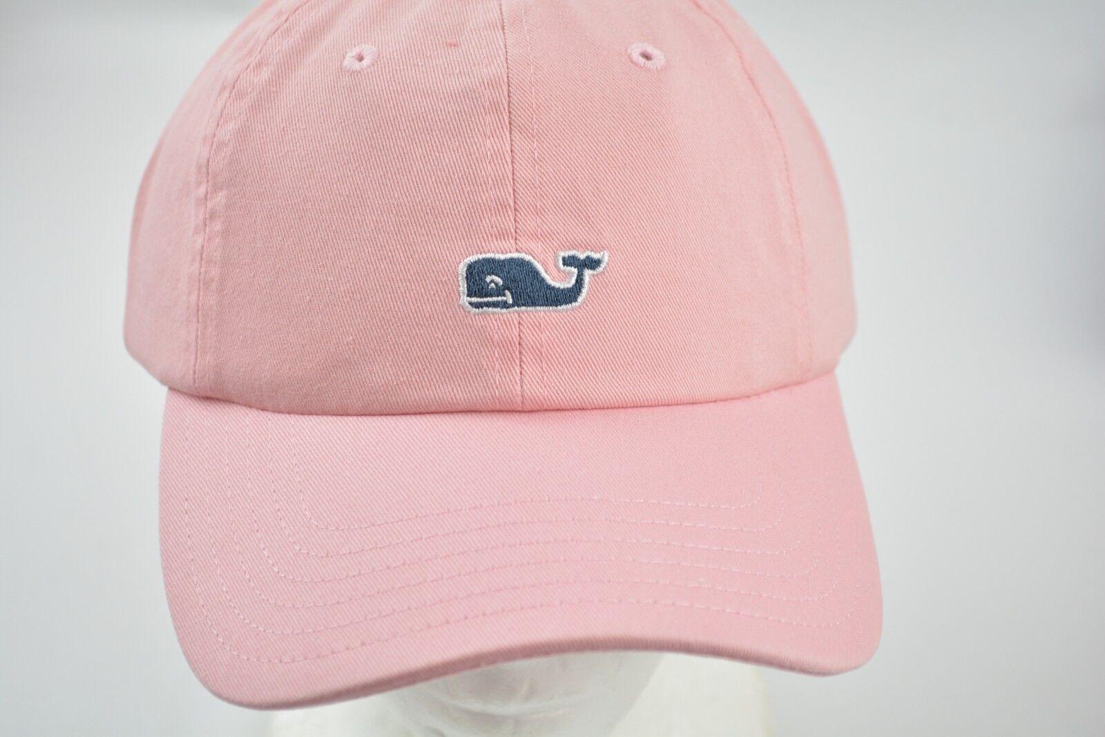 4aca75a838685 Vineyard Vines Whale Logo Baseball Hat Cap Flamingo OS for sale ...