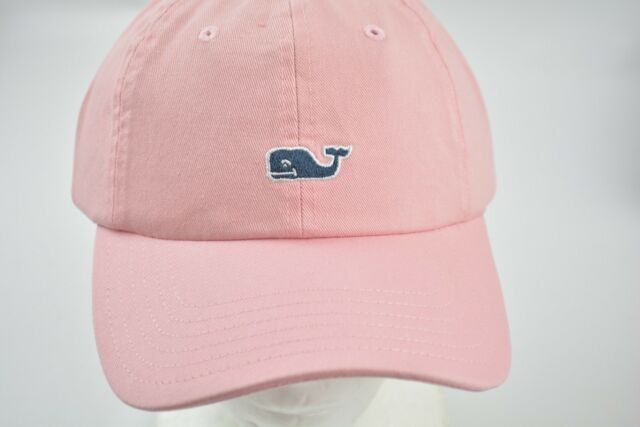 Vineyard Vines Whale Logo Baseball Hat Cap Flamingo OS for sale ... 309d58cc17ba
