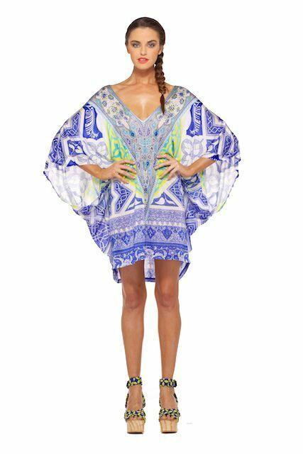 Camilla Franks Hydra Batwing Dress- O S