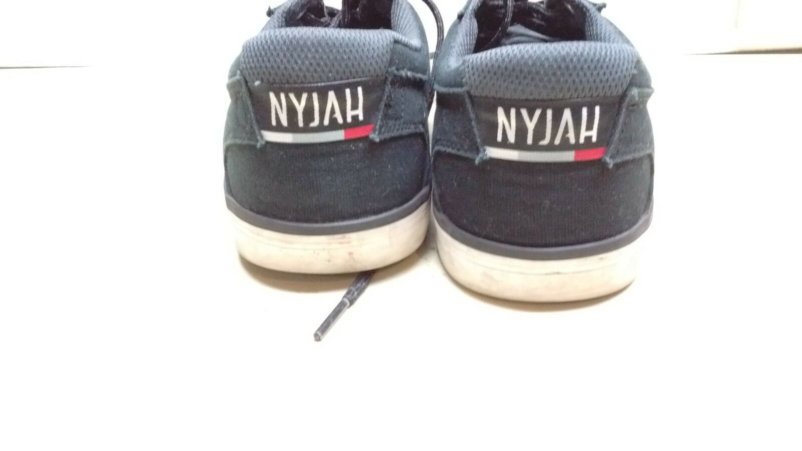 DC NYJAH hommes noir Suede Leather Lace Sneaker Casual Running Walking Running Casual Chaussures 9.5M bc034f