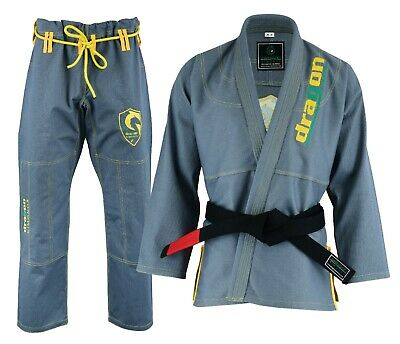 Adults BJJ Gi Competition Kimono Brazilian Jiu Jitsu Uniform MMA Grappling