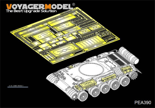 Voyager PEA390 1//35 Russian T-54B Medium Tank Stowage Bins(For TAKOM 2055)