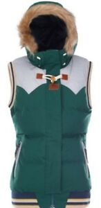 Holly Donna Scuro Verde Picture Nuovo Clothing Organico Gilet grigio HTqxERzwf