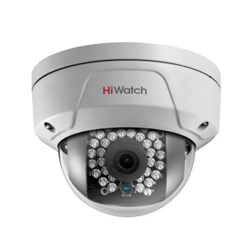 Hikvision HiWatch 4mp CMOS IK10 Vandal Network Dome PoE CCTV Camera IP67 30m IR