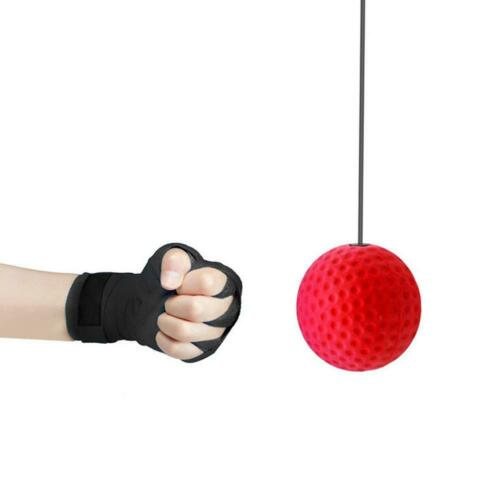 Fight Tennis Ball Reflex Boxing MMA Training Boxer Speed Punch Reflex Head Ball