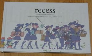 recess The Art of Little Witch Academia Animation Book NEW