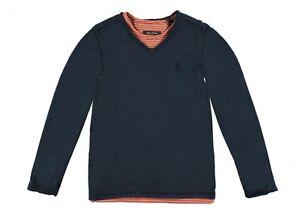 Marc-O-POLO-1544421-Ninos-2ER-Camiseta-Sweatshirt-Shirt-3980-azul-marino