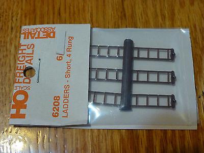 Detail Associates HO #6208 Ladders - Short (Modern Cars