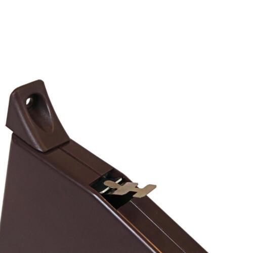 10 x Aufschraubwickler Gurtwickler Mini Aufputz 5m braun Rolladen Gurtband