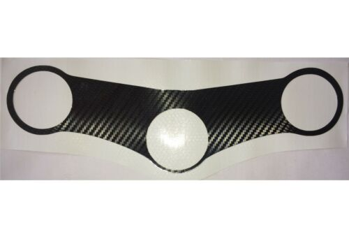 HONDA CBR900RR 1998-1999 Carbon Fiber Effect Top Yoke Protector Cover Decal