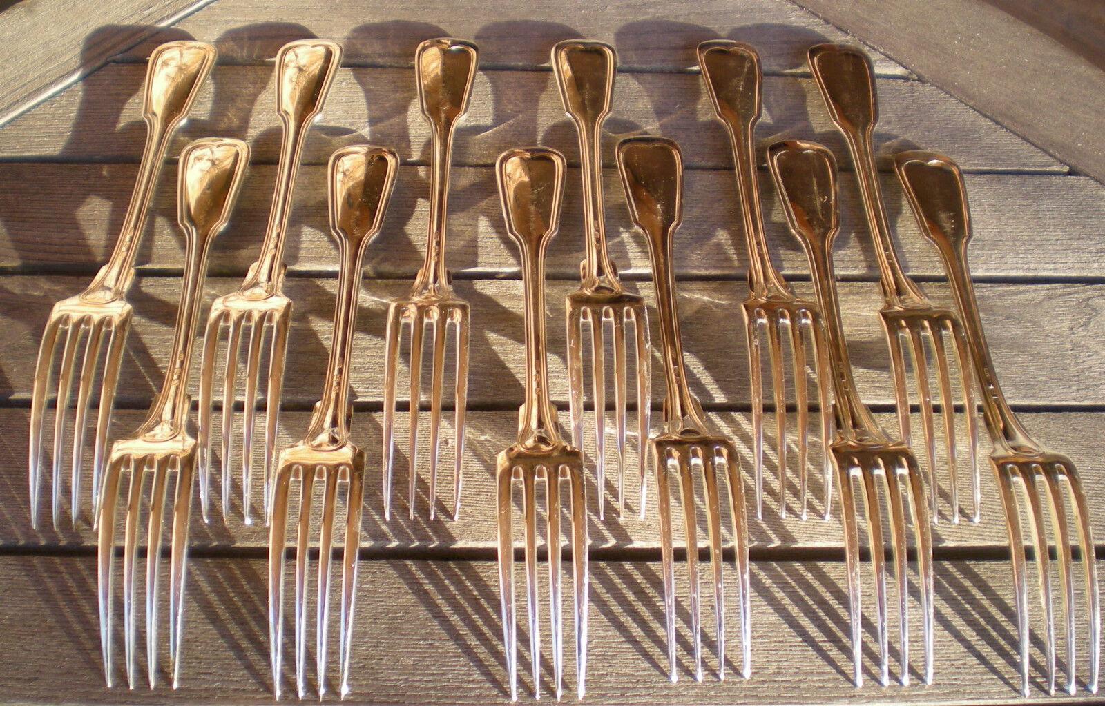 Ménagère 73 pièces modèle  filet    en métal Silberé SFAM 854e2f