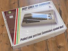 Abdeckung für C-64, neu. Dust cover for Commodore 64, new.