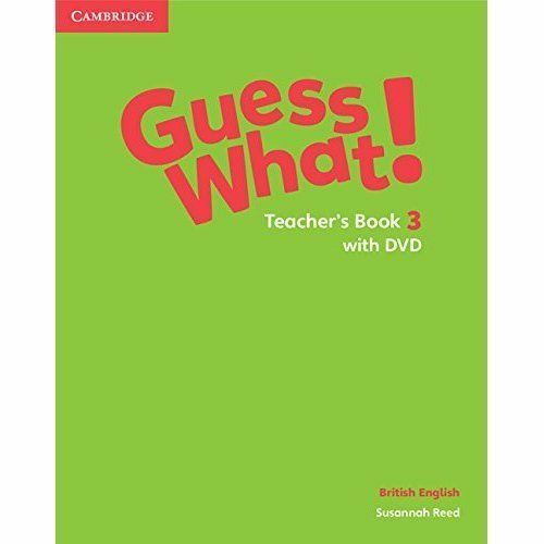 1 of 1 - Guess What! Level 3 Teacher's Book with DVD British English by Reed, Susannah